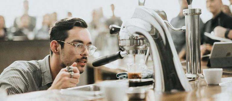 clean coffee machine
