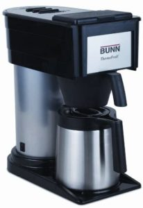 bunn bt velocity brew 10 cup thermal carafe home coffee brewer
