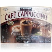 cappuccino instant coffee kirkland