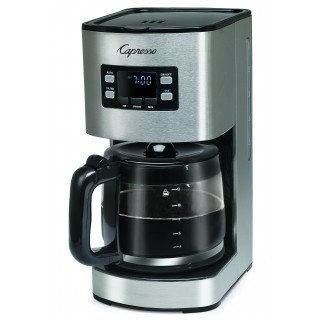 capresso sg300 12 cup coffee maker