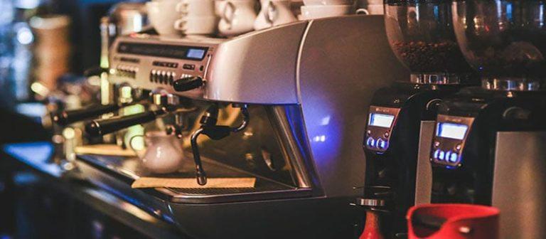 using an espresso machine