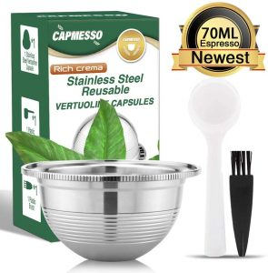 capmesso reusable coffee capsule