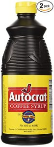 autocract coffee syrup