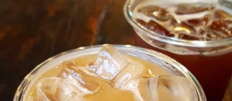 ice vanilla latte