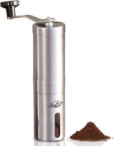 java presse manual coffee grinder