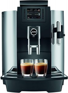 jura coffee machine chrome