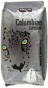 kirkland signature colombian supremo coffee