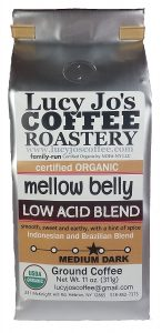 lucy jos coffee organic low acid blend