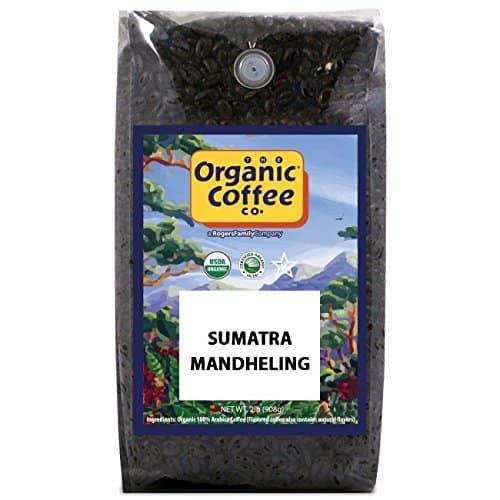 Organic Coffee Co Sumatra Manheling coffee