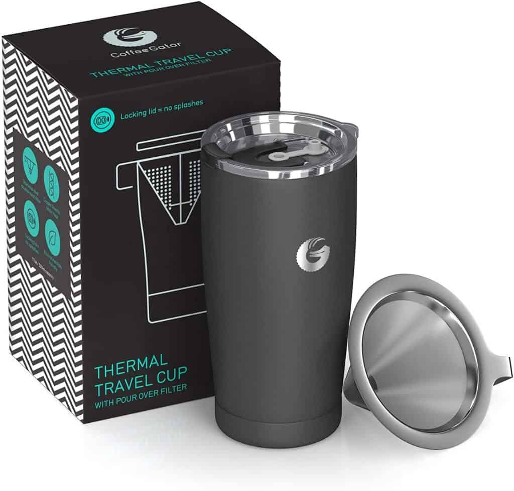 pour over portable coffee maker thermal