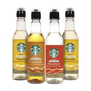 starbucks coffee syrup