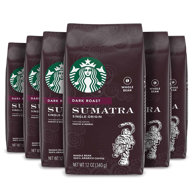 Starbucks Dark Roast Sumatra Coffee