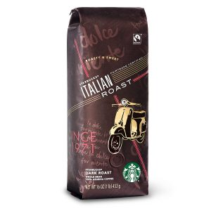 starbucks italian coffee beans