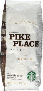 starbucks pike place roast coffee beans