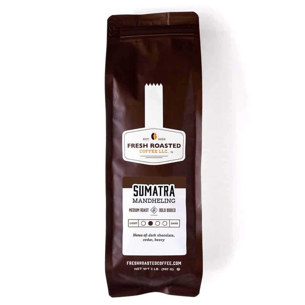 Sumatra Mandheling llc Coffee