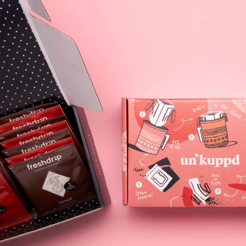 Unkuppd Pour-over Coffee Subscription