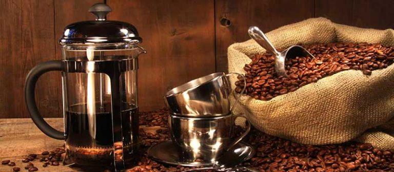 french press coffee deposit
