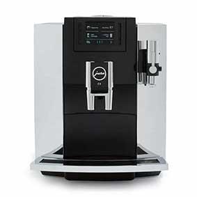 jura e8 chrome automatic coffee machin