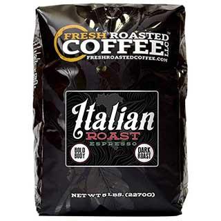 Fresh Roasted coffee LLC italian roast