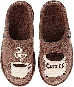 women coffee slippers