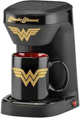 wonder woman coffee maker