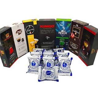 Nespresso Compatible Capsules Italian Multi Brand Variety