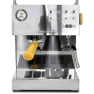 ascaso steel duo espresso machine versatile pid wood portafilter handle