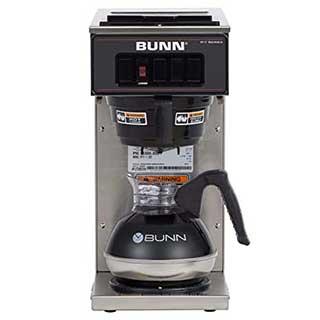 bunn pourover coffee brewer