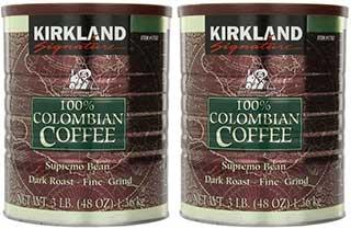kirkland signature colombian coffee