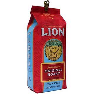 lion original roast coffee