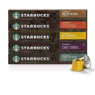starbucks by nespresso original line compatible capsules