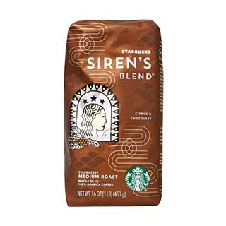 starbucks sirens blend coffee beans
