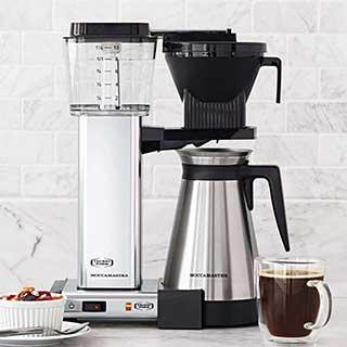 technivorm moccamaster kbgt coffe maker