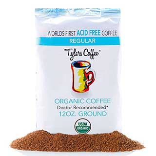 tylers no acid organic arabica coffee