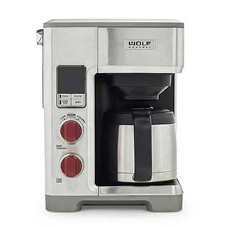 wolf gourmet 10 cup coffee maker