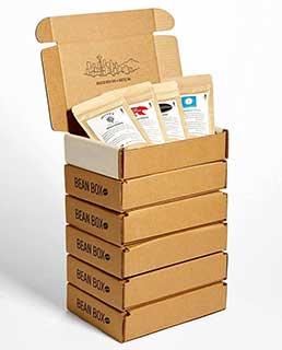 Bean Box - Gourmet Coffee Sampler - 12-Month Gift Subscription