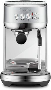 Breville Bambino Plus Espresso Machine Brushed Stainless Steel