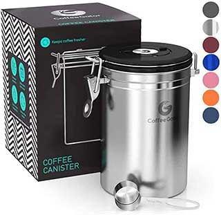 Coffee Gator Stainless Steel Coffee Container