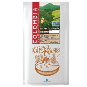 Colombian Dark Roast Coffee Single Origin Whole Bean Coffee by Coffeeland