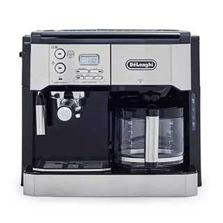 Delonghi Combination Pump Espresso and 10 Cup Drip Coffee Machine