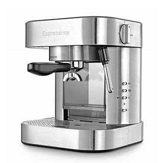 Espressione Stainless Steel Automatic Pump Espresso Machine with Thermo Block