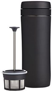 ESPRO P1 Double Walled Stainless Steel Vacuum Insulated Travel Coffee French Press