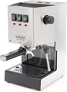Gaggia Classic Pro Espresso Machine Brushed Stainless Steel
