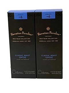Hawaiian Paradise Coffee Pods