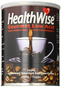 HealthWise Low Acid Coffee, 100% Colombian Supremo
