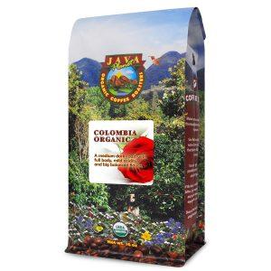 Java Planet, Organic Coffee Beans, Colombian Single Origin, Low Acid