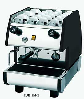 La Pavoni 1 Group Commercial Espresso/ Cappuccino Machine Stainless