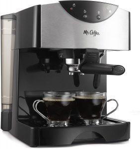 Mr Coffee Automatic Dual Shot Espresso/Cappuccino System