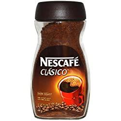 Nescafe Clasico Dark Roast Pure Instant Coffee