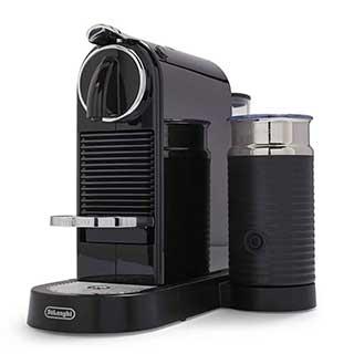 Nespresso Citiz by Delonghi Espresso Machine with Aerocciono 3 Frother Black